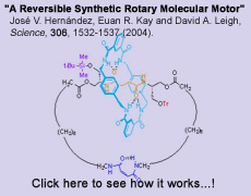 A Reversible Synthetic Rotary Molecular Motor