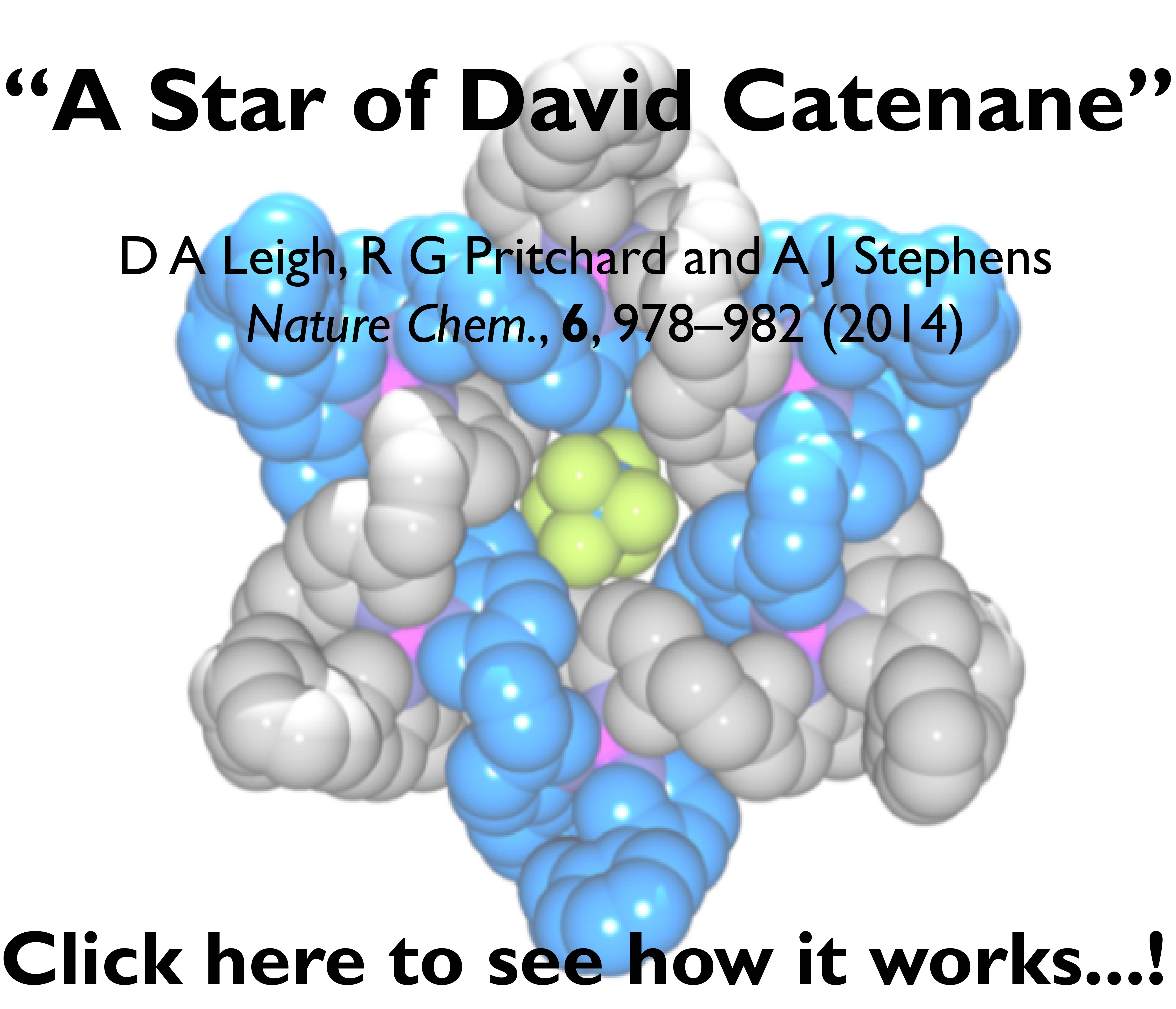 A Star of David Catenane